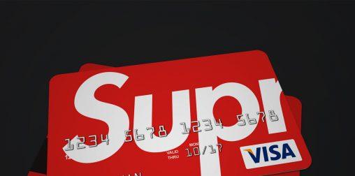 Supreme bank card cropped